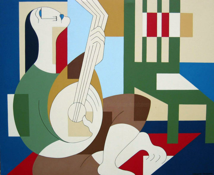Hildegarde Handsaeme - The Banjo Player