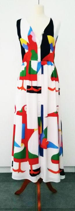 Hildegarde Handsaeme - Long dress Hash-Hash