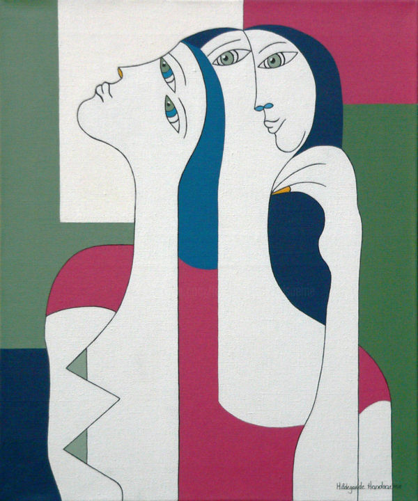 Hildegarde Handsaeme - Women with Yellow Nail